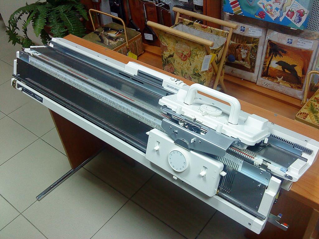 Инструкция к вязальная машина silver reed